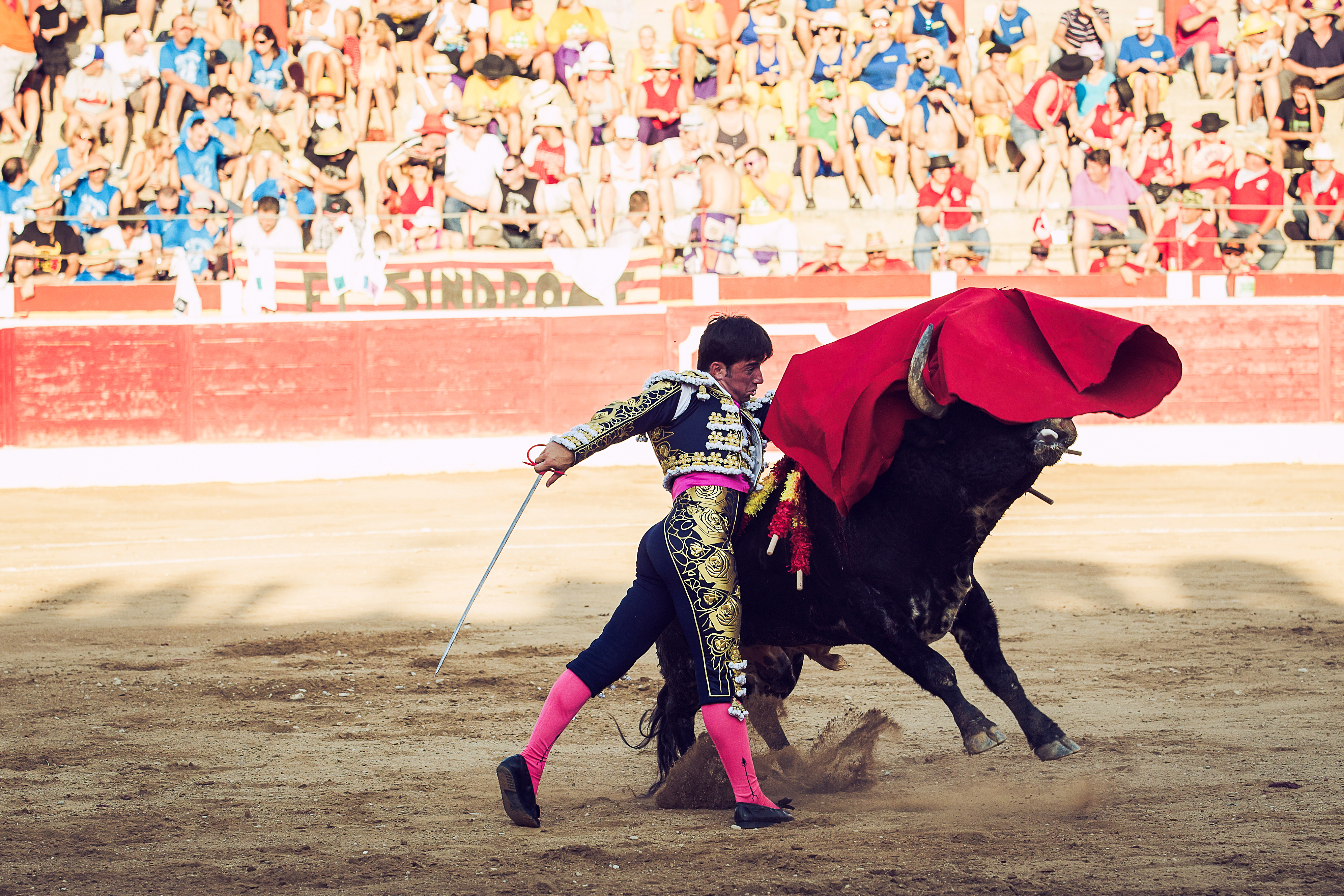 Pase de Pecho Alcañiz 2014 Imanol Sánchez torero