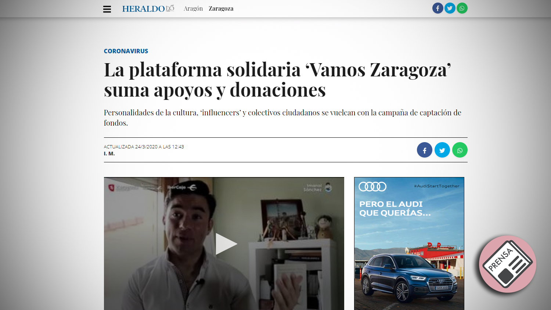 Heraldo e Aragón | Principal periódico de Aragón